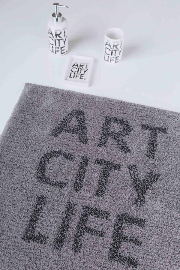Covor baie printat ART CITY LIFE