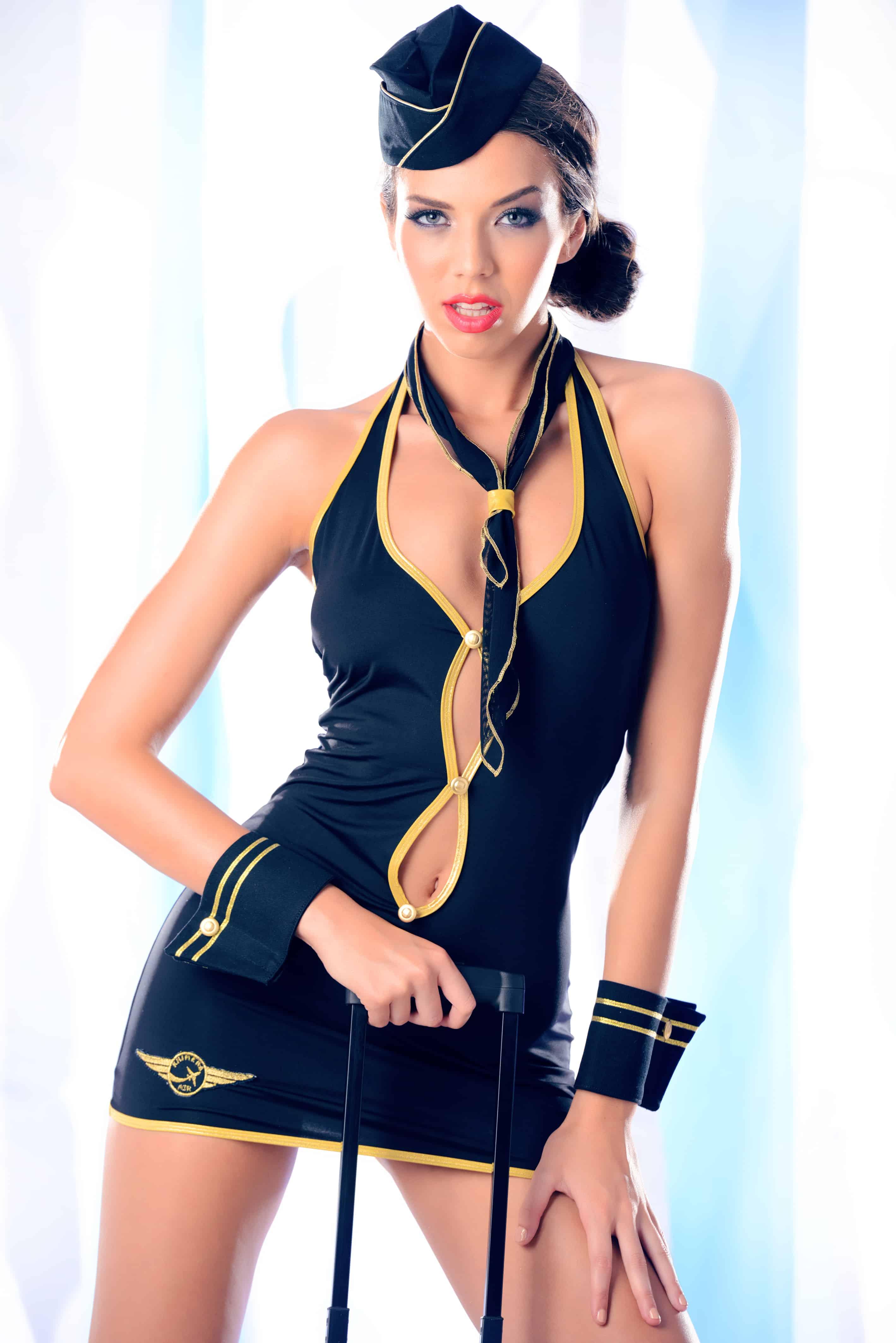Costum tematic stewardesa KENDRA