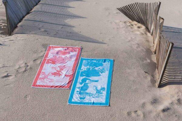 Prosop plaja copii LITTLE CAPTAIN