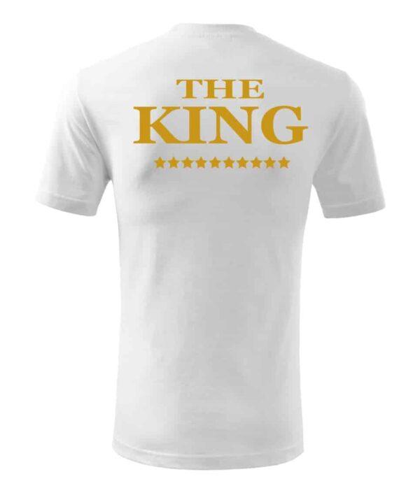 Tricou pereche KING si QUEEN
