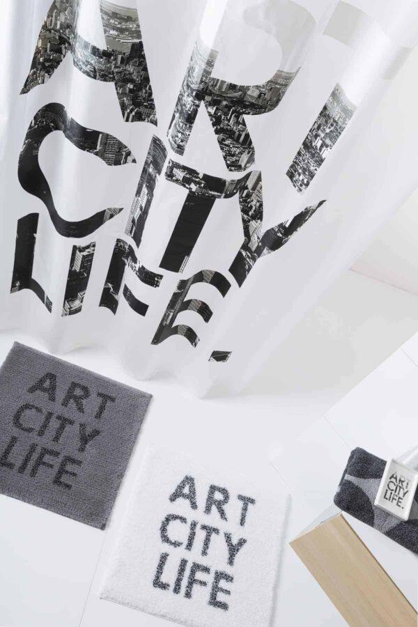 Perdea dus ecologica ART CITY LIFE