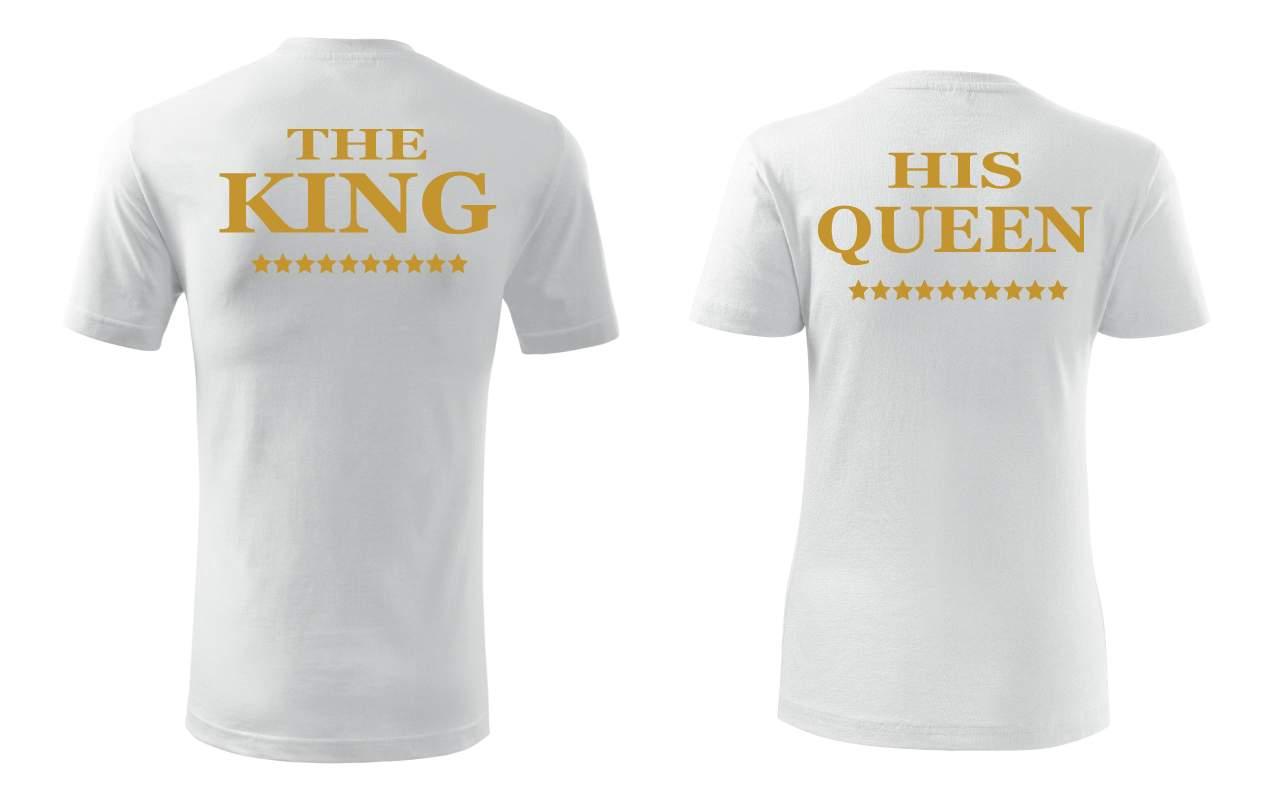 Tricou pereche KING & QUEEN 1