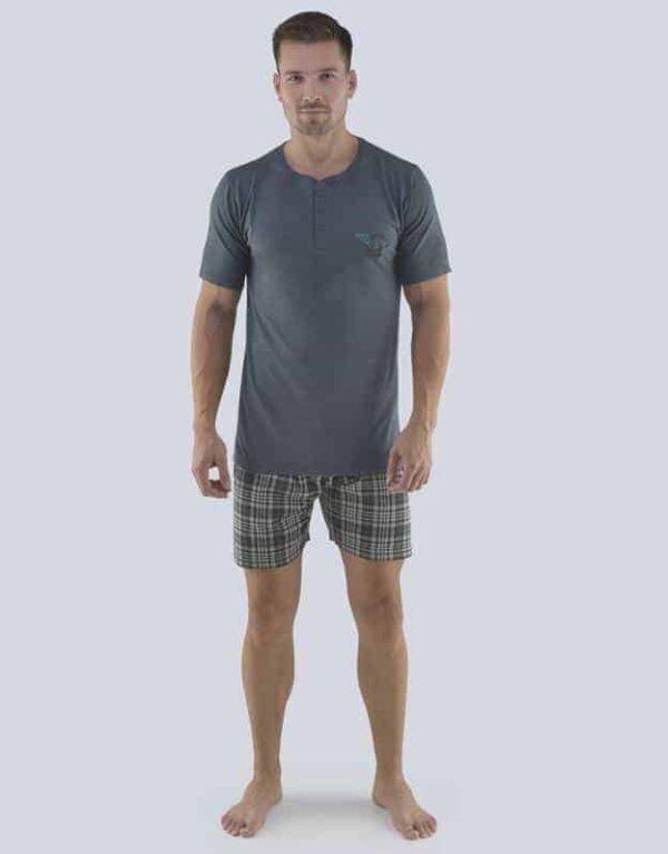Pijama bumbac barbati 79074 1 GINA
