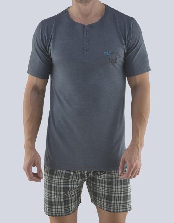 Pijama bumbac barbati 79074 2 GINA