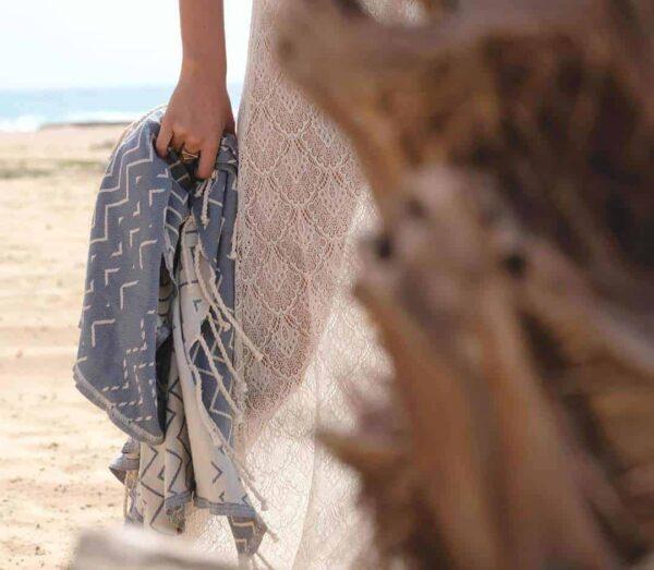 Prosop de plaja Barra XL