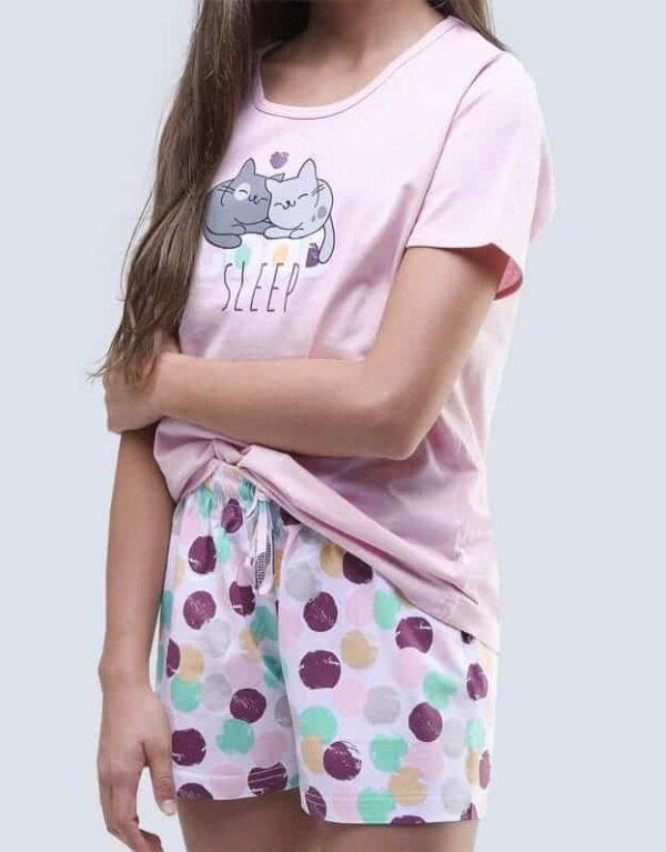 Pijama bumbac fete 19048