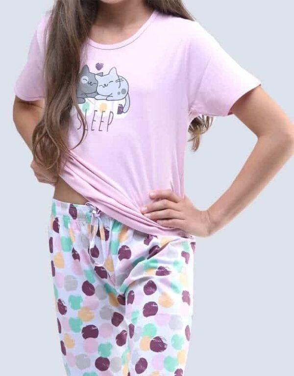 Pijama bumbac fete 19056