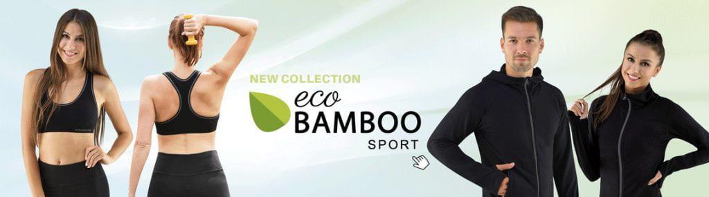 Lenjerie sport Eco BAMBOO femei & barbati