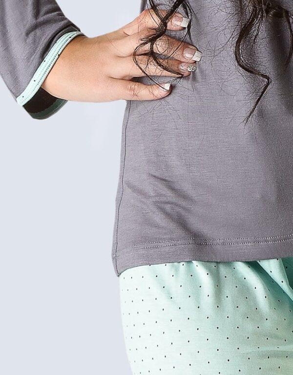 Pijama ecologic femei 19020