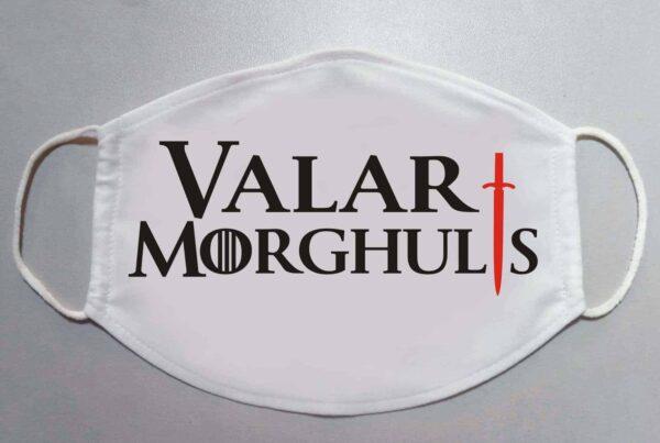 Masca de fata VALAR MORGHULIS