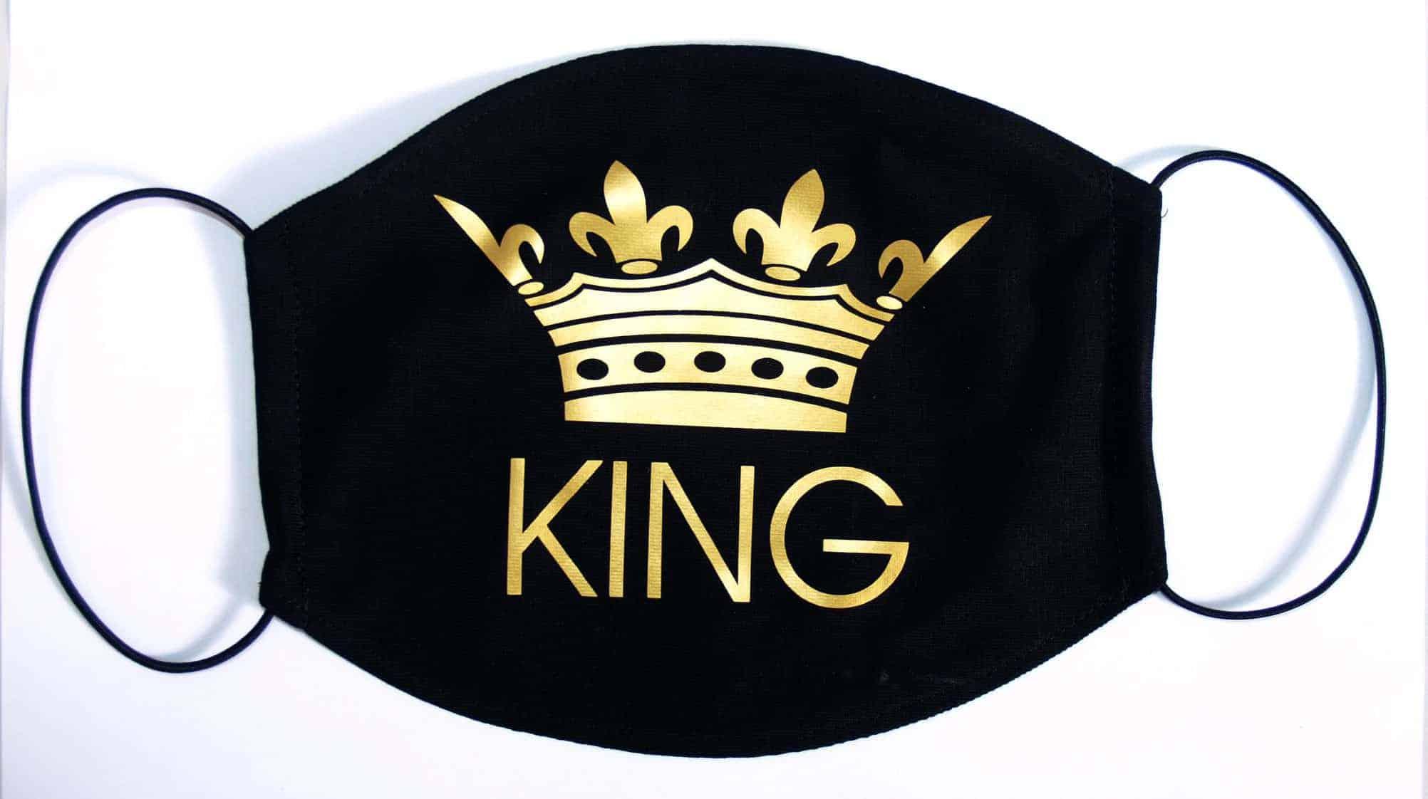 Set masca KING & QUEEN