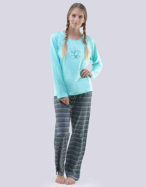 Pijama bumbac femei 19063