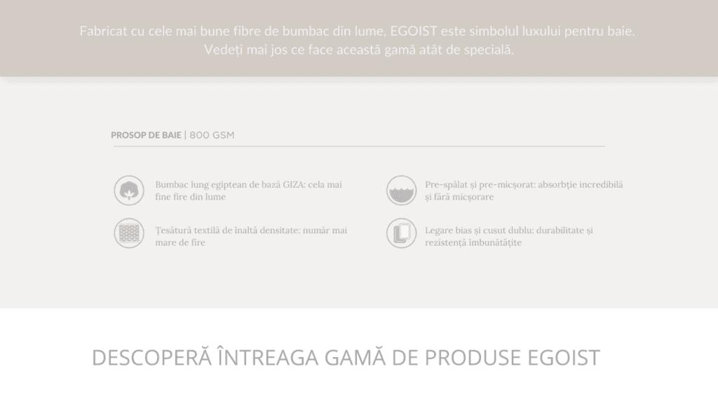 GAMA EGOIST - LUXURY COLLECTION BY GRACCIOZA